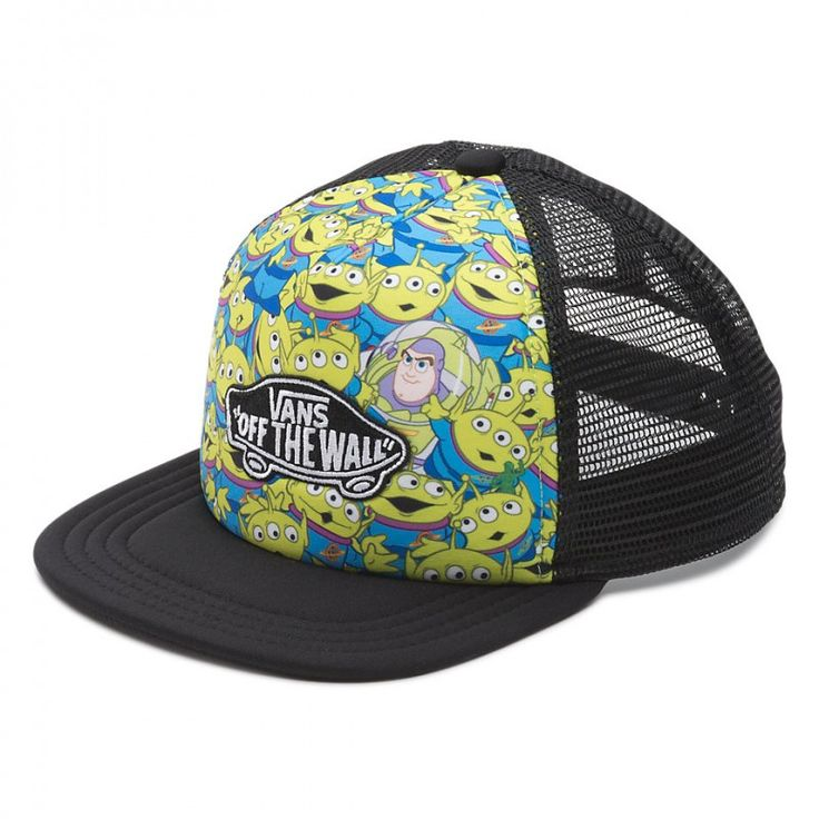 Buy Vans Toy Story Classic Patch Cap Aliens at the Skateboard shop in The Hague, Netherlands