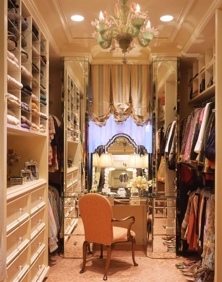 Dressing room in a Pacific Heights townhouse