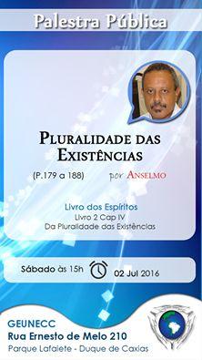 GEUNECC – Grupo Espírita Unidos em Caridade com Cristo Convida para a sua Palestra Pública - Duque de Caxias – RJ - http://www.agendaespiritabrasil.com.br/2016/07/01/geunecc-grupo-espirita-unidos-em-caridade-com-cristo-convida-para-sua-palestra-publica-2/