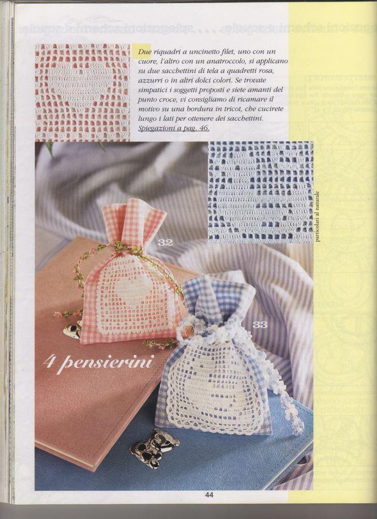 Bien connu 258 best Uncinetto bomboniere images on Pinterest | Crochet  AE81