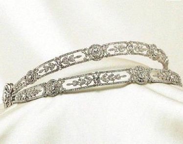 Double bandeau tiara of Queen Marie Jose of Italy