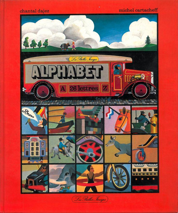 ALPHABET (1978) Illustration (Michel Cartacheff)