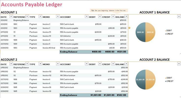 5+ General Ledger Templates http://exceltmp.com/5-general-ledger-templates/
