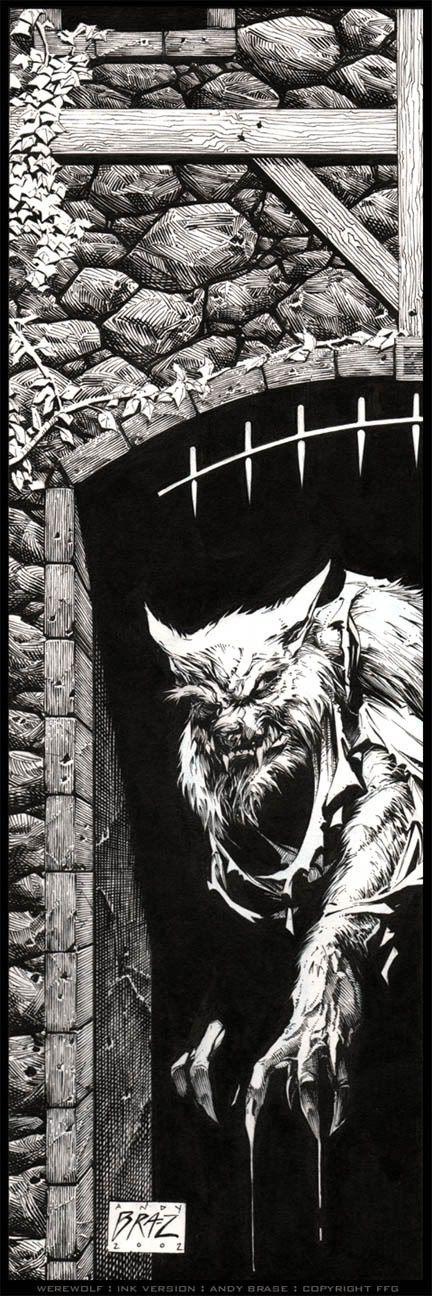 Werewolf by andybrase.deviantart.com on @deviantART
