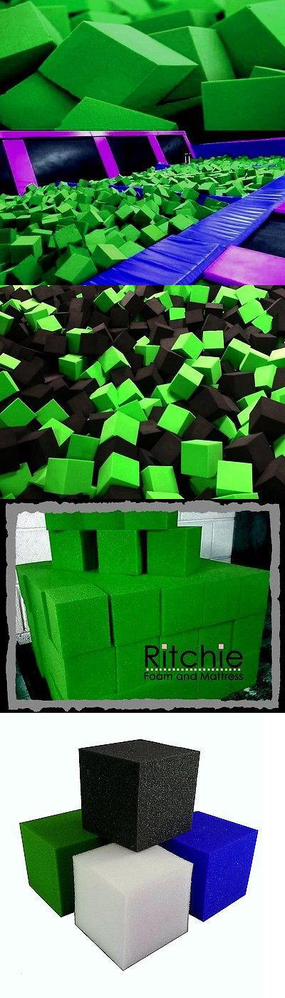 Equipment 79793: Foam Pits - Pit Foam Blocks 500 Pcs (Lime Green) 6 X6 X6 Flame Retardant Foam -> BUY IT NOW ONLY: $649.99 on eBay!