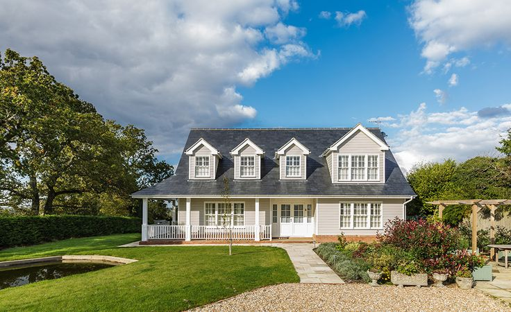 New England style Sussex home exterior