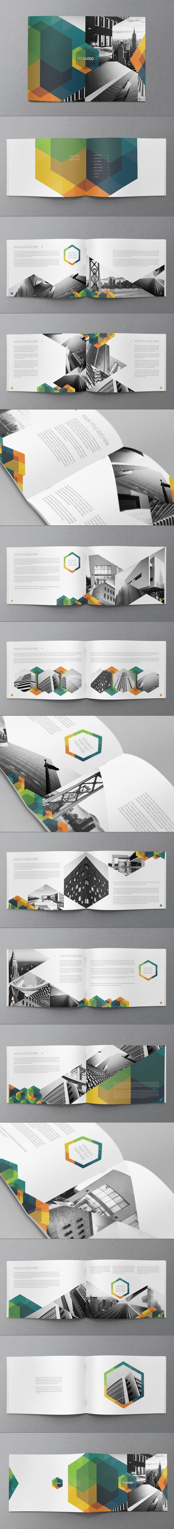 Hexo Brochure Design on Behance