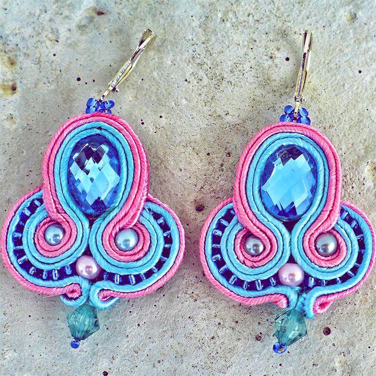 Handmade ZuzDesign Náušnice Candy Sun http://femmefashion.sk/zuz-design/2393-nausnice-candy-sun.html