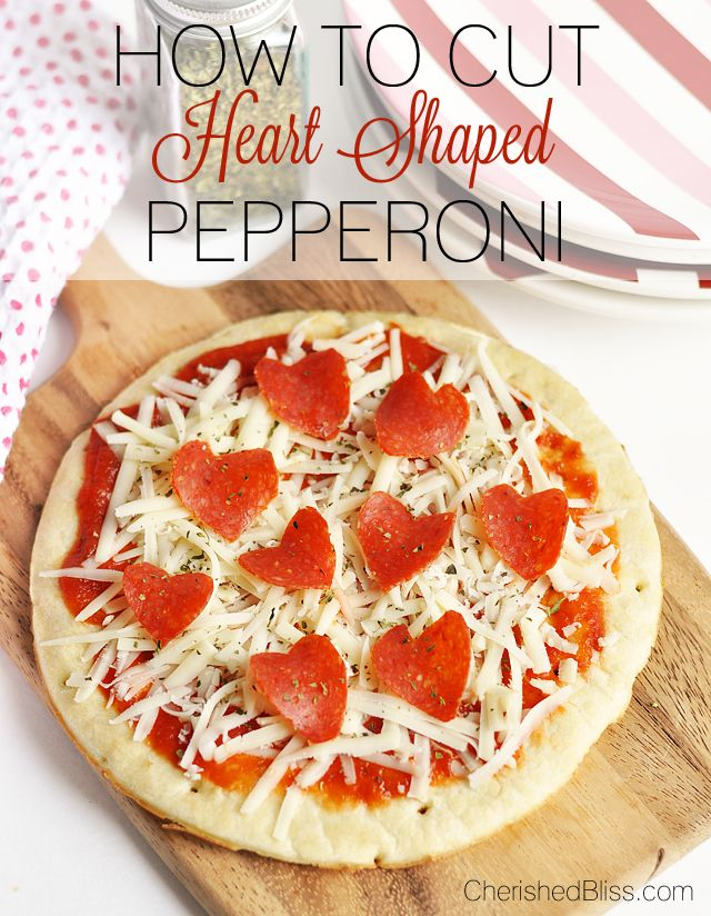 How to Make a Heart Shaped Pepperoni