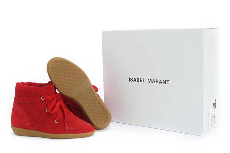Isabel Marant Suede Red Sandal  $299.00 http://www.marantoutlet.com/cheap-isabel-marant-suede-red-sandal_24.html