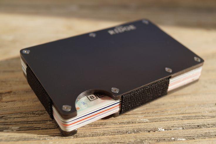 The Ridge 2.0 Slim Wallet Alu gunmetal
