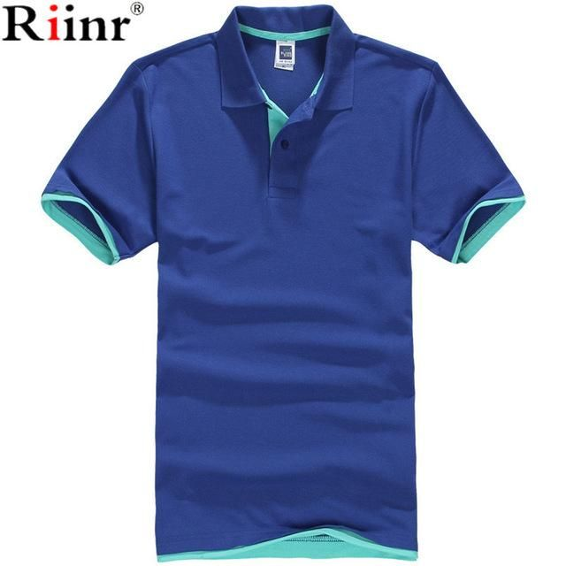 adc19fe9958 Fashion New Arrival Polo Shirt Men High Quality Summer Classic Solid Color  Cotton Blends Short Sleeve Polo