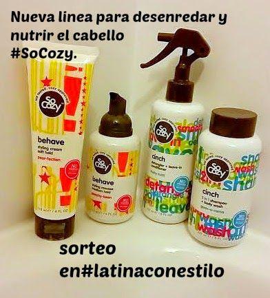 SORTEO y Review  de So Cozy cabello manejable sin frizz y sin piojos/ #Sorteo. #sponsored