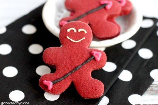 These delicious cupid cookies: | Community Post: 14 Insanely Easy DIY Valentine's Day Treats That'll Spread Some Serious...