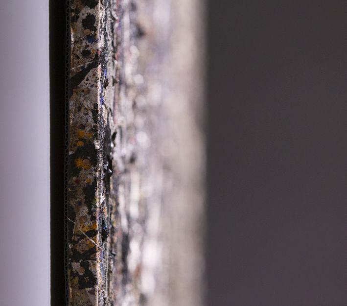 "Installation ""Alchemy by Jackson Pollock. Discovering the Artist at Work"" Ph. Matteo De Fina"