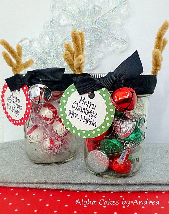 Country Christmas Party Ideas Part - 33: Christmas Party Food. See More. Reindeer Mason Jar, Neighbor/teacher Gift!  Secret Santa? Stocking Stuffer?
