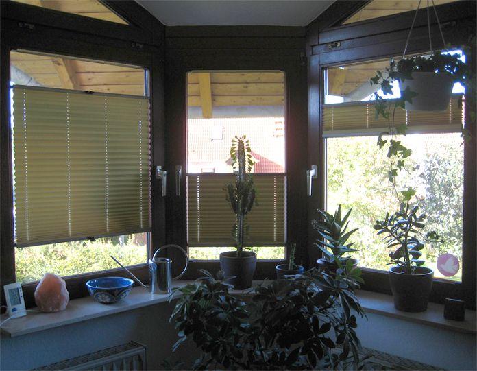 Nice Fenstergestatung mit gelben Plissees photo from a customer plissee online pleatedblind gelb sonnenschutz PLISSEE pleated blinds Pinterest