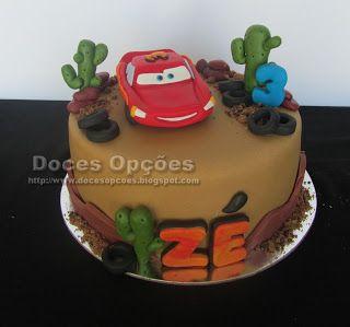 Doces Opções: O Faísca Mcqueen no 3º aniversário do Zé