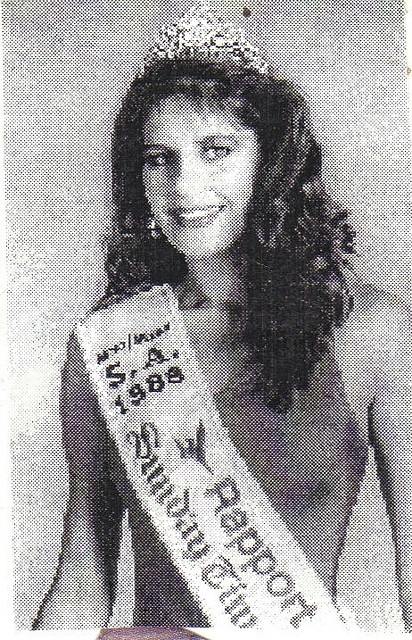 Janine Botbyl miss south africa 1988