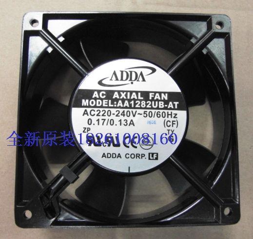 ADDA fan AA1282UB-AT 1238 12038 12CM 120MM 220V  socket 5 leaves wind capacity AC FAN
