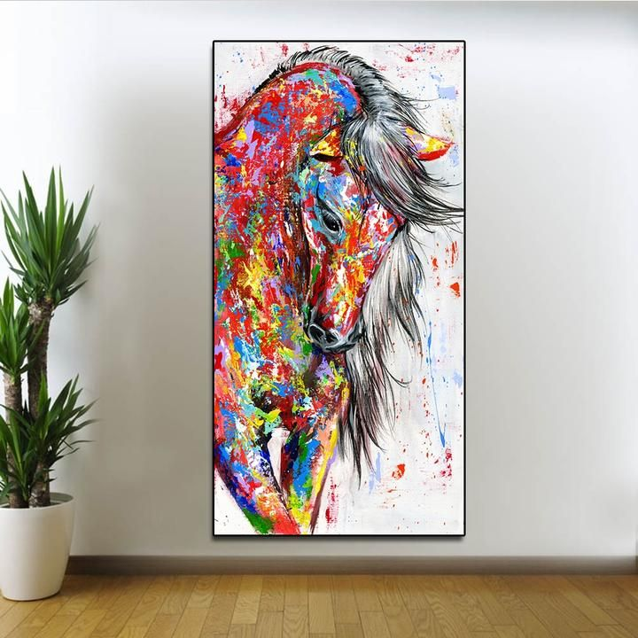 No Frame Canvas Oil Painting Wall Poster Artwork Picture Wall Decoration