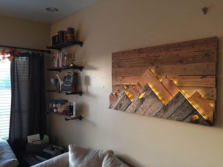 Best 25+ Wood wall art ideas on Pinterest Wood art, Wood - wood wall living room
