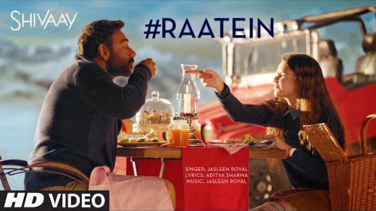 Watch new Raatein song Video of Ajay Devgn from Shivaay movie