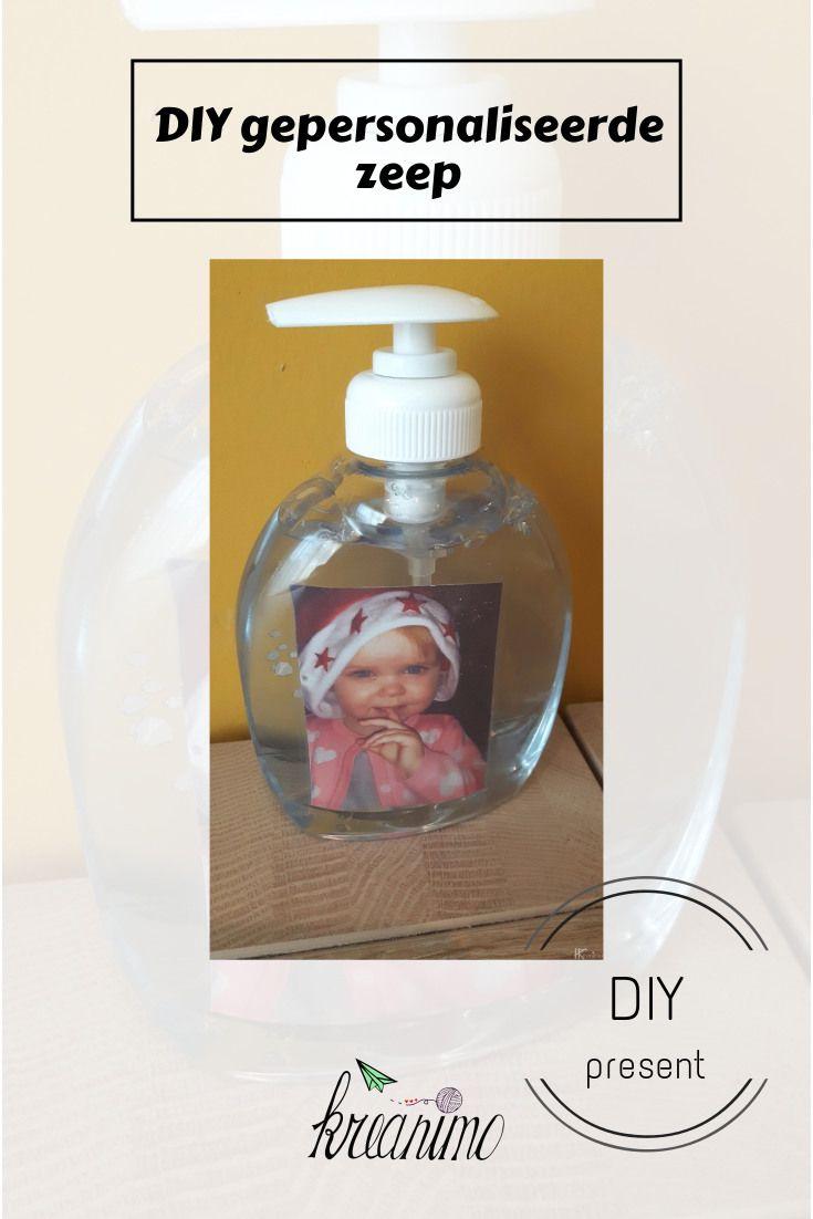 gepersonaliseerde zeep