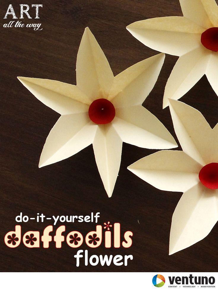 DIY : Paper Daffodils  https://goo.gl/oQTkia