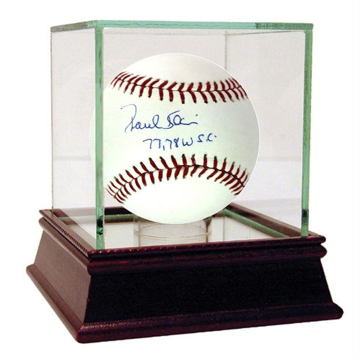 Paul Blair MLB Baseball w 77 78 WSC Insc. (MLB Auth)
