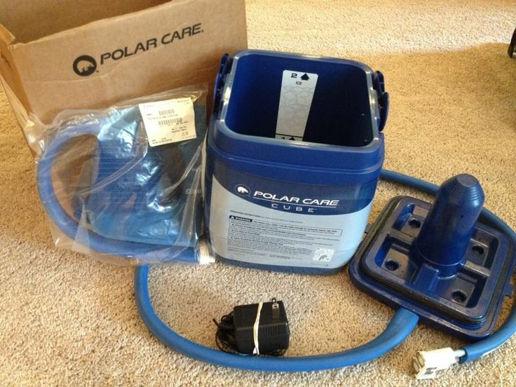 Breg Polar Care Cube Cold Therapy Unit w/WrapOn Back with