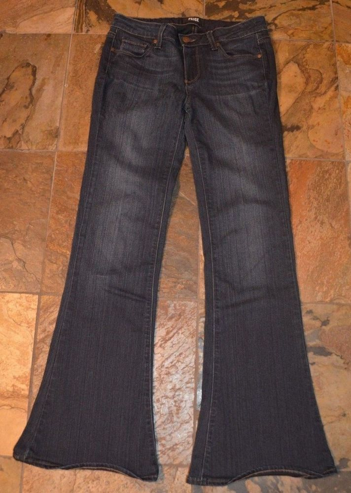 Womens Paige Lou Lou Petite Blue Jeans Pants Size 28 Fashion
