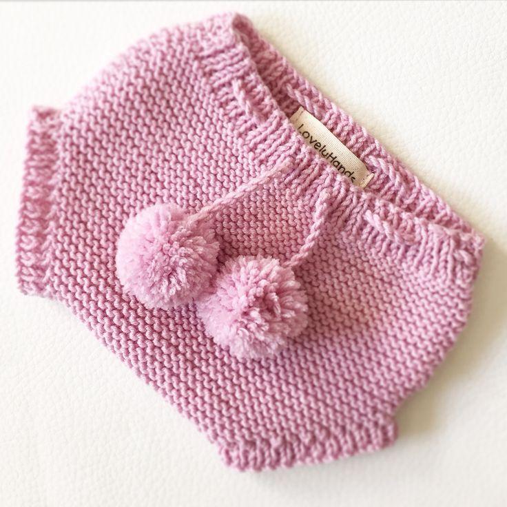 Cubrepañal tejido a mano handmade LovelyHands newborn recién nacido