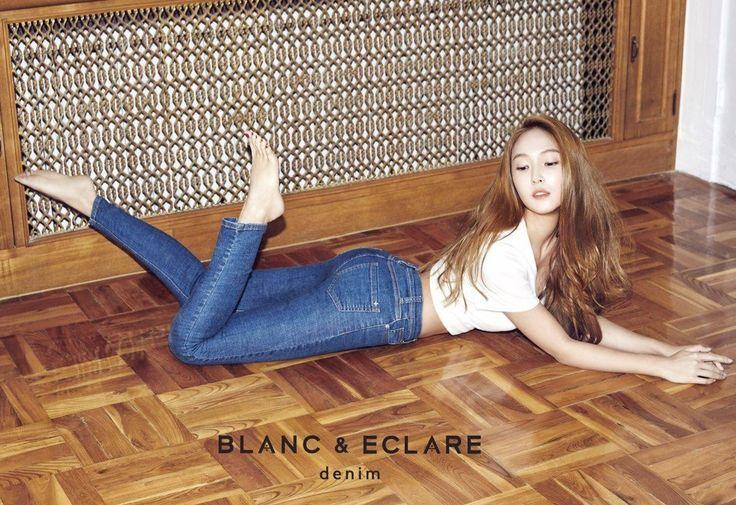 Jessica Jung for Blanc & Eclare Denim Spring 2015 Ad 2