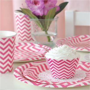 Greenmunch - Paper Cups - 9oz –- Chevron Hot Pink, $7.00 (http://www.greenmunch.ca/paper-dinnerware/paper-cups/paper-cups-9oz-chevron-hot-pink/)