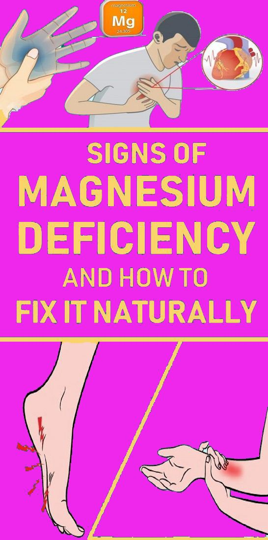 Early Signs to Look Out for Before Your Body Has a Magnesium Crisis