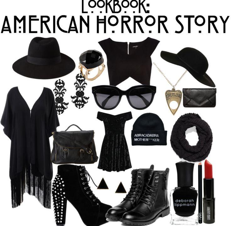 thelittlebrunette: Lookbook : American Horror Story Coven