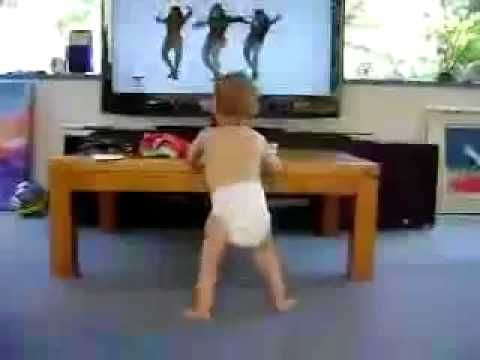Baby Dancing to Beyonce- Single Ladies - can make you smile no matter how hard your day is!