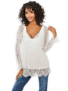 Linea Tesini - Kanten blouse