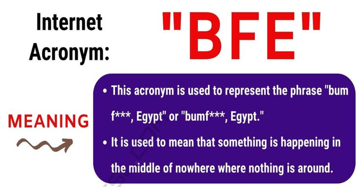 BFE Meaning: What Does BFE Stand For? with Useful Text