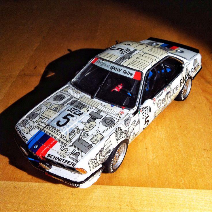BMW 635 CSI Group A Tamiya 1/24