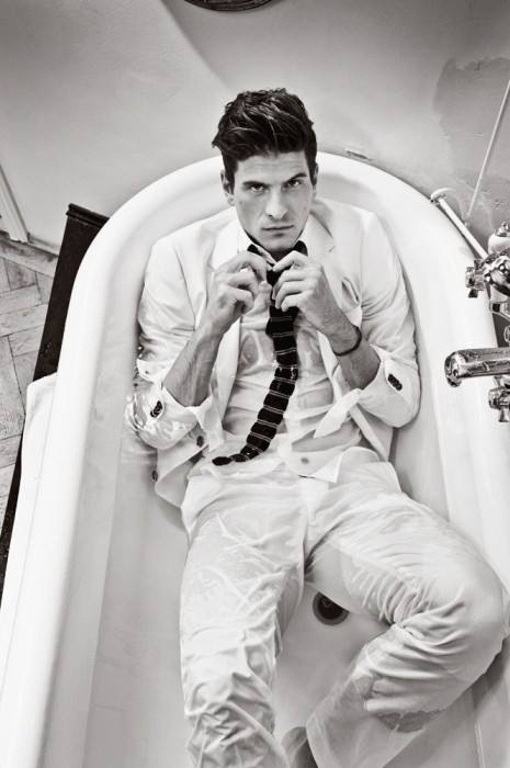 Mario Gomez.  oh honey, let me get you out of those wet clothes...