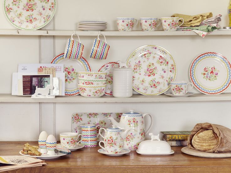 83 best the home of modern vintage images on pinterest for Cath kidston kitchen ideas