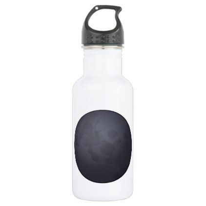 #Dark moon - Emoji Stainless Steel Water Bottle - #travel #accessories