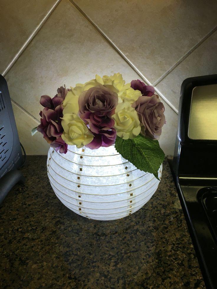 The best paper lantern centerpieces ideas on pinterest