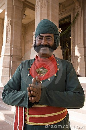 This rich Culture and  Heritage, these mannerisms, this smile and joining of hands and the discrete top lip mustaches are nowhere else to be seen, except in Jodhpur, Rajasthan, India. Its just amazing<3