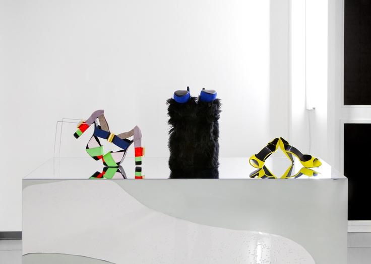 """Pierre Hardy """"Anatomie du désir"""" / Exposition du 25 janvier au 16 mars 2013 / Design Project Room, 22, rue de Lyon, 1202 Genève // Photographie ©Raphaëlle Mueller"""
