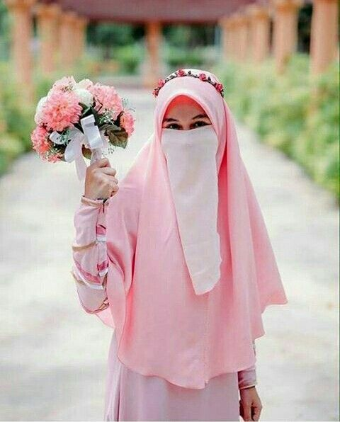 Syari Wedding with niqob