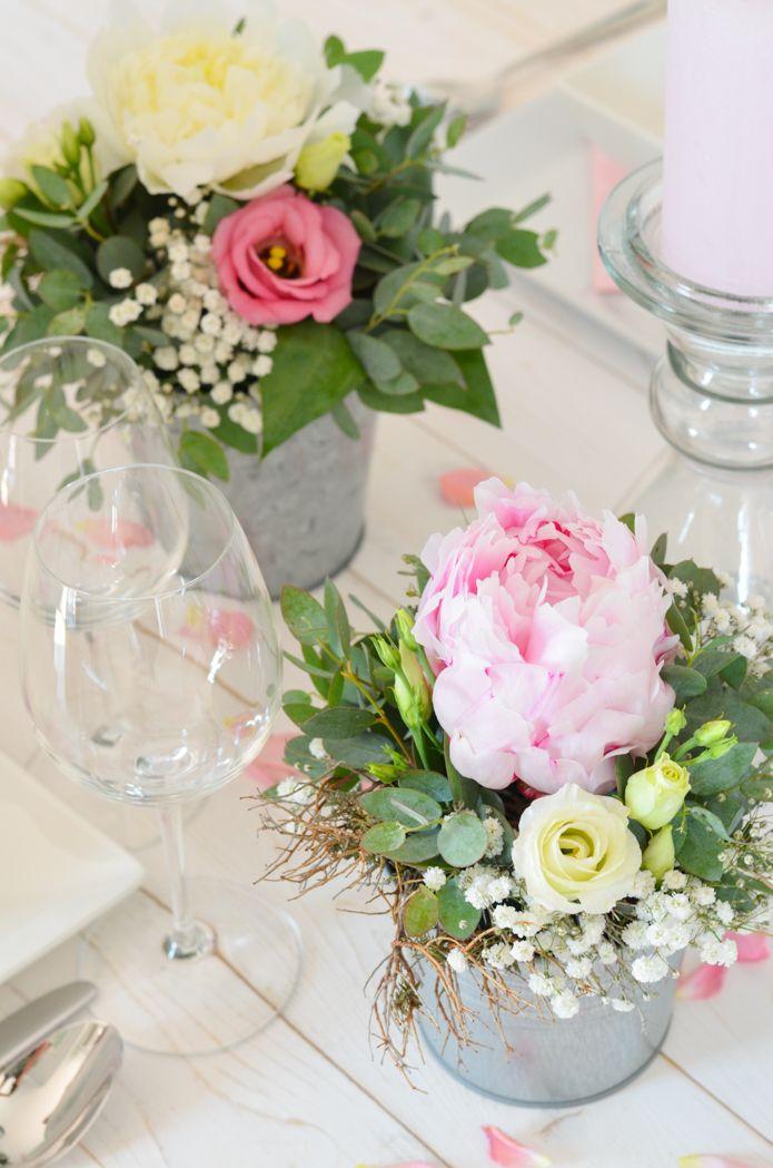 Maak zelf tafeldecoratie met pioenrozen – Pink Wedding Part 3 | Blumigo  – Hochzeit Gianni