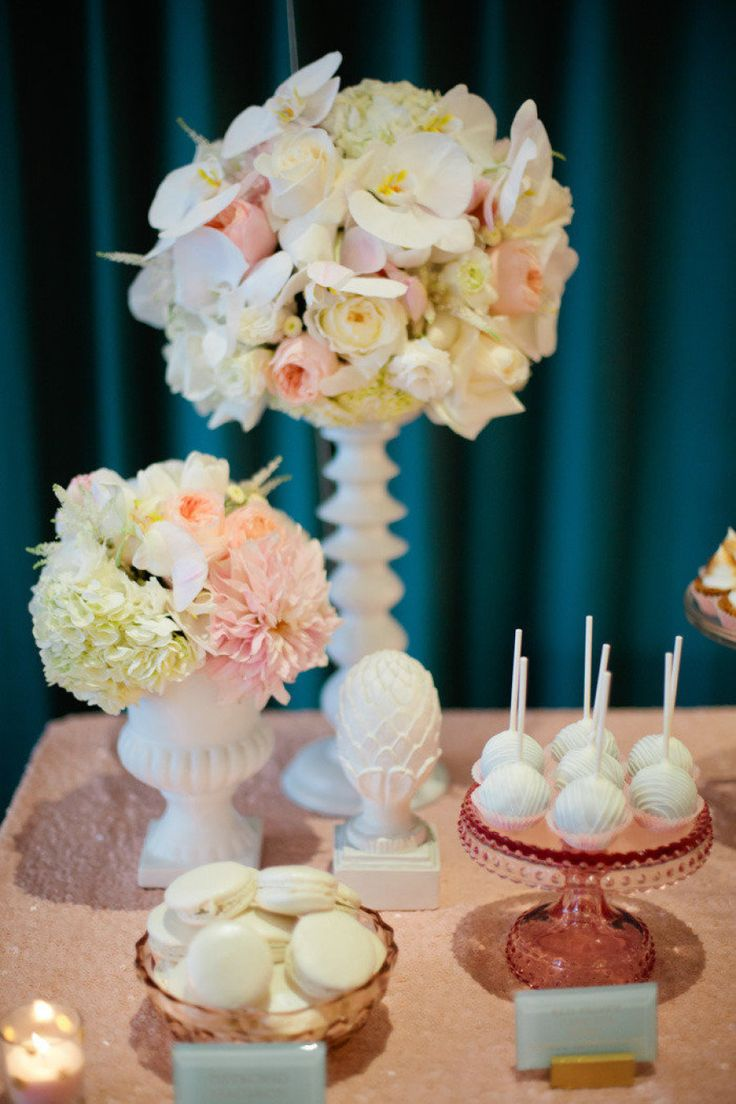 Cake pops & other delicious treats | Designed by So Happi Together, Photography by Connie M. Chung